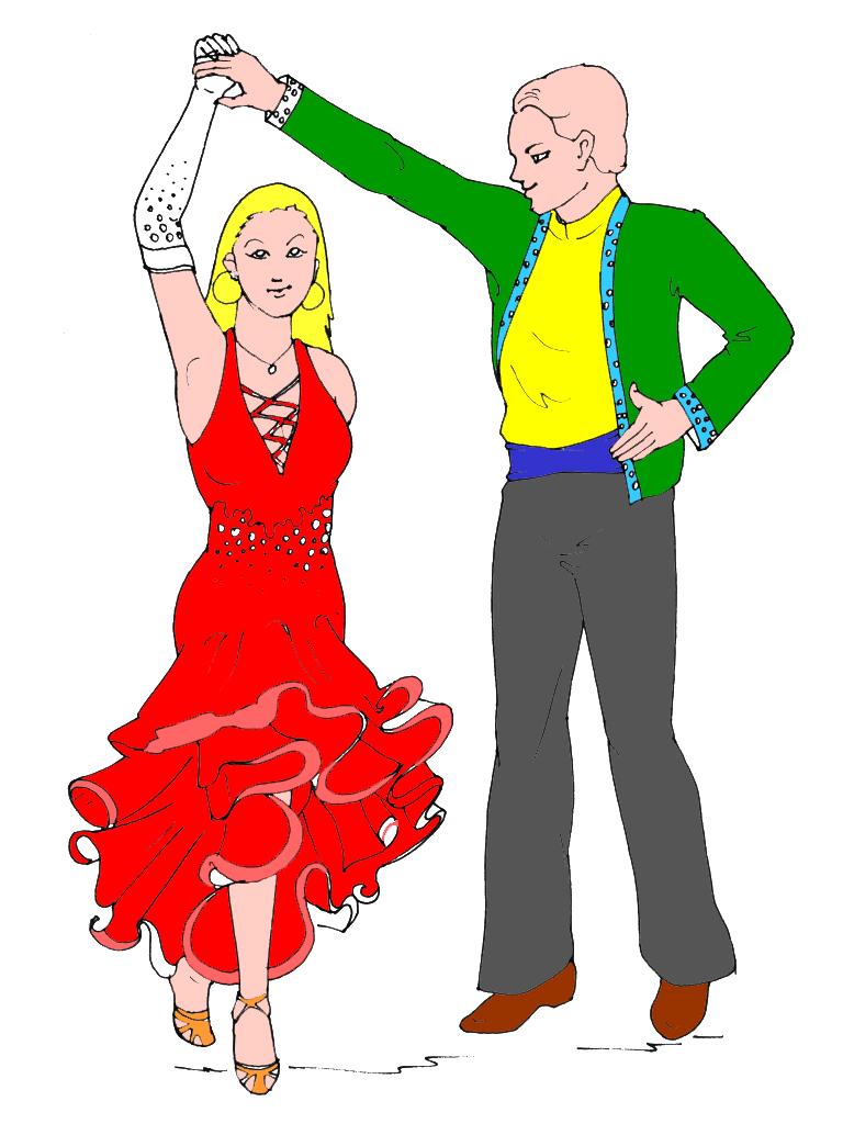 Coloriage Danseuse Salsa.Coloriages A Imprimer